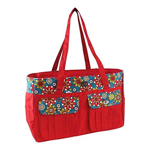 della Q Isabella Knitting Bag (18'' W x 11'' H x 6'' D); 110 Belmont 440-1-110 by della Q