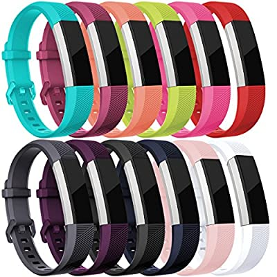 For Fitbit Alta HR and Alta Bands, Maledan Replacement Accessories Wristbands for Fitbit Alta and Alta HR, Large Small