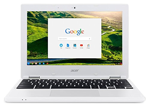 2018 Acer 11.6 HD IPS Anti-glare Display High Performance Chromebook, Intel Celeron N2840 Dual-Core Processor, 2 GB RAM,16 GB SSD, 802.11ac, HDMI, Webcam, Chrome OS, White
