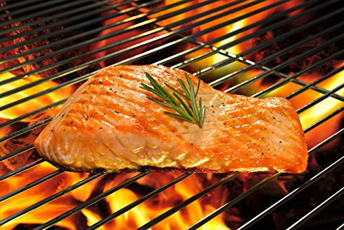 (5.0 Lb. Kippered Hot Smoked Salmon Fillet, Ready to Eat, Vacuumed Packed (2 Fillet))