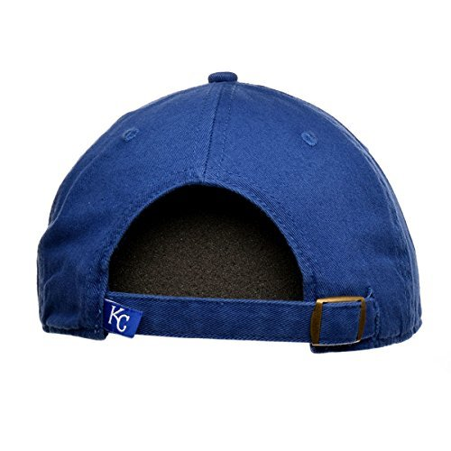 Kansas City Royals Clean Up Adjustable Cap (Blue)