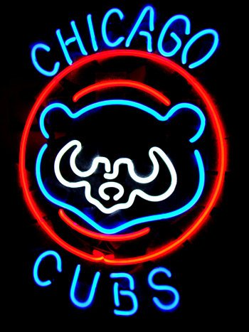 Chicago Cubs Neon Light Price pare #1: 51xpMah8PKL