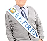 "JPACO""Retired!"" Sash - Retirement Sash for"