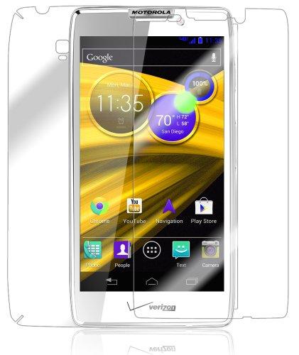 (Motorola DROID RAZR HD Screen Protector + Full Body, Skinomi TechSkin Full Coverage Skin + Screen Protector for Motorola DROID RAZR HD Front & Back Clear HD Film)