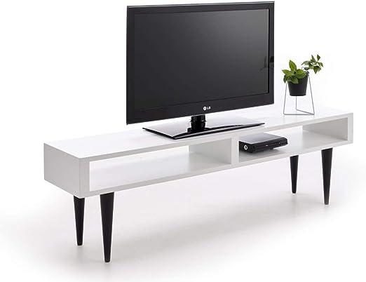 HOGAR24 ES Mesa Televisión, Mueble TV Salón Diseño Vintage 2 ...