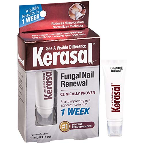 Kerasal Fungal Nail Renewal - Visible results start in just 1 week, 10ml 1 Ounce Skin Mat