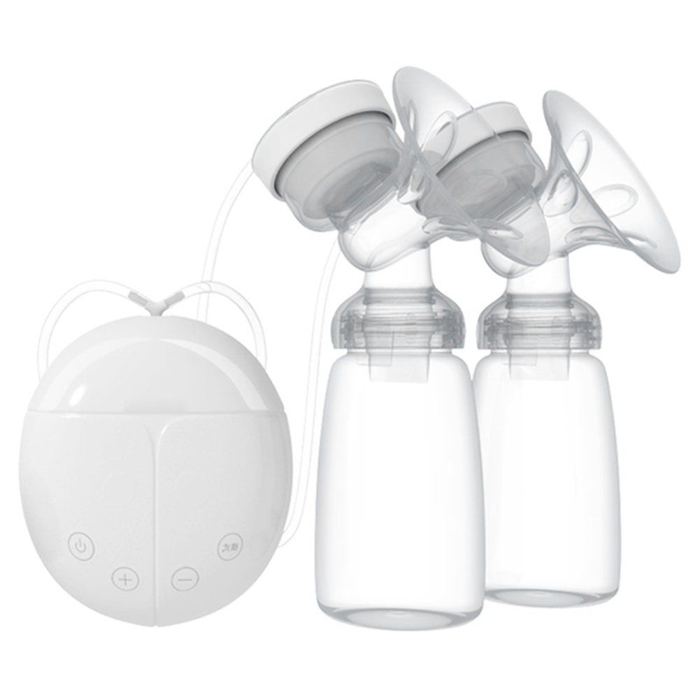 Double Electric Breast Pump Powerful Nipple Suction USB Electric Baby Feeder Milk Pump,