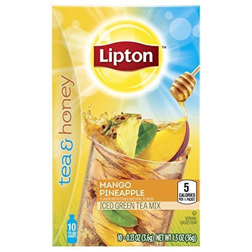 Lipton Green Honey Pineapple 10Count