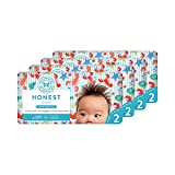 The Honest Company Baby Diapers, Lobster Tails, Size 2, 160 Count