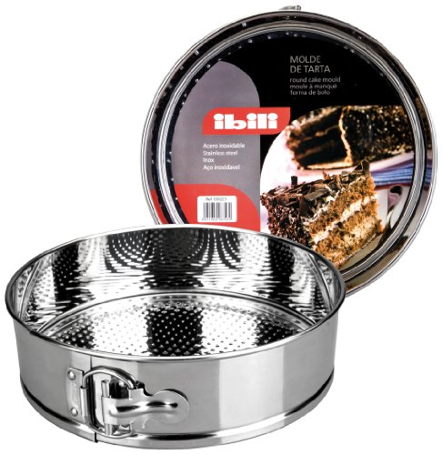 Springform Pan Steel Stainless - Ibili 650226 Springform Cake Tin 26 cm