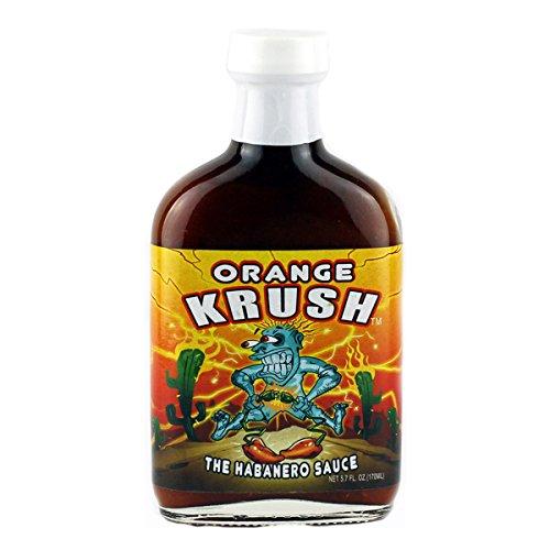 Orange Krush Hot Sauce, 5 fl oz