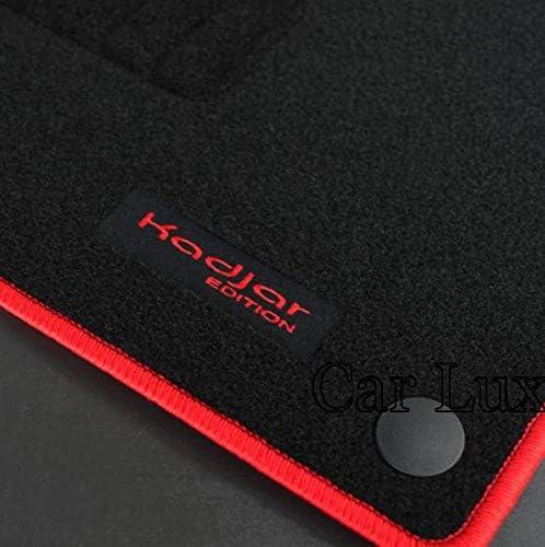 Car Lux AR03371 Tapis de voiture en velours