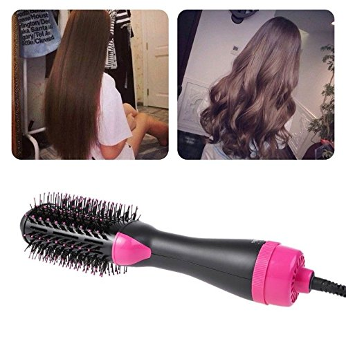 Jual 2 In 1 Hot Air Curl Straighten Hair Electric Styling Comb for ... 2d0b9af802
