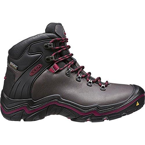 Keen Women's Liberty Ridge Outdoor Boot, Gargoyle/Beet Re...