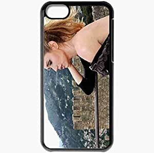 Personalized iPhone 5C Cell phone Case/Cover Skin Ashley Jones Black