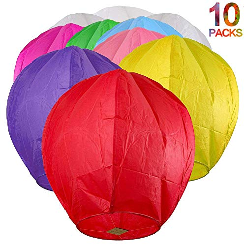 Most bought Sky Lanterns