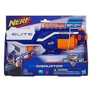 Nerf-Disruptor-Elite-Blaster-6-Dart-Rotating-Drum-Slam-Fire-Includes-6-Official-Elite-Darts-For-Kids-Teens-Adults