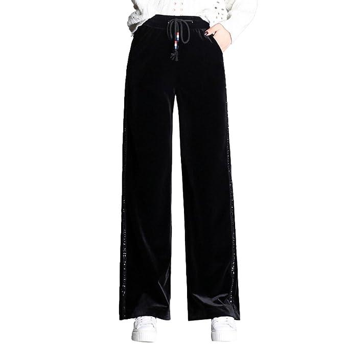 9d250d4d4bc4 WanYang Donna Elegante di Pantaloni di Velluto di Alta qualità Autunno E  Inverno Pantaloni A Gamba
