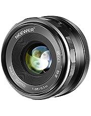 Neewer 35mm F / 1.7 Große Blende HD MC Manuelle Primäre fixierte Objektiv APS-C für Canon EF-M Fassung Objektiv EOS M Serie Mirrorless Kameras M100 / M10 / M6 / M5 / M3 / M2