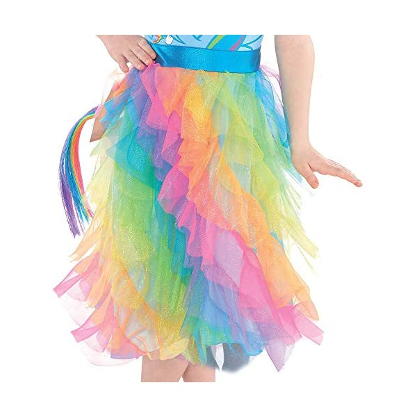 Suit Yourself Rainbow Dash Halloween Costume, My Little Pony, Small, Includes Dress, Headband, Wings, and Tail 6