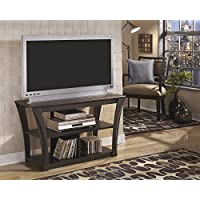 Ellain Contemporary Wood Brown TV Stand