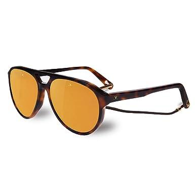 Vuarnet Lunettes De Soleil Tom Ecaille pure Brown Bronze Flash  Amazon.fr   Vêtements et accessoires 68b07983973b