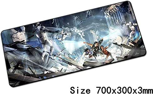 Computer Mouse Pad SHANDIAN 700x300x3mm Mouse Pad Notebook Laptop Gaming Mouse Pad Color : Pad 4, Size : Size 900x400x4mm