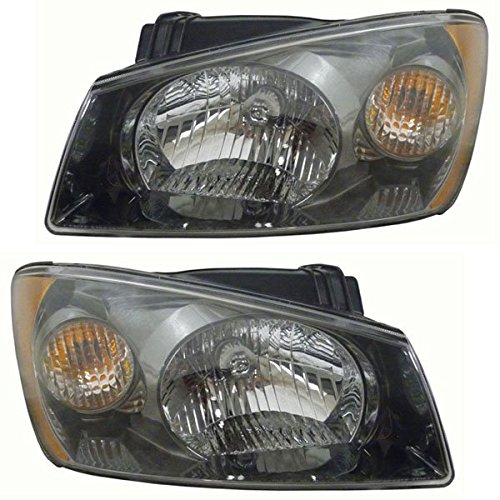 04 Kia Spectra Sedan Headlight - 6