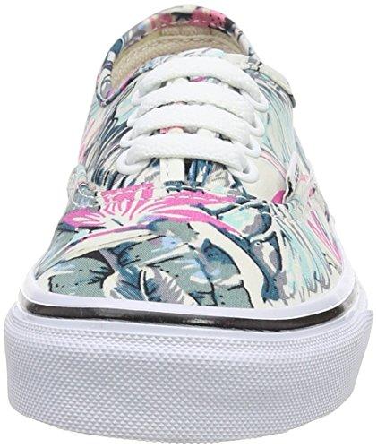 Vans Authentic - Zapatillas Unisex Niños Multicolor (tropical/multi/true White)