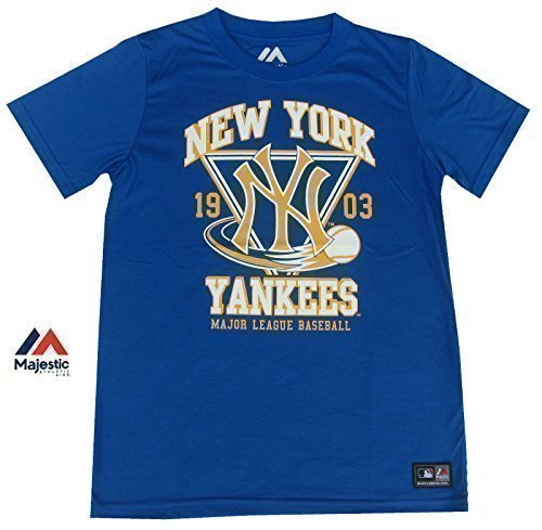 Majestic Ragazzi New York Yankees T-Shirt Serie A Età Di Baseball 8Y ... 7dac9a4e554a