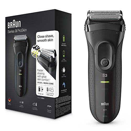 Braun Series 3 Black 3020s Electric Shaver/Rechargeable Electric Razor ()