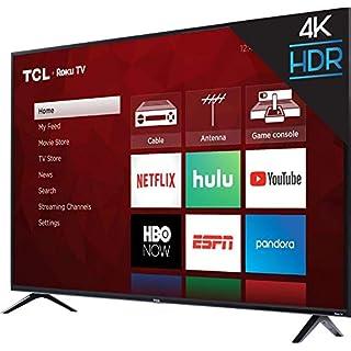 """TCL 65"""" Class (64.5"""" Diag) 4K UHD ROKU LED LCD (65S423)"""