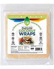 NUCO Cinnamon Coconut Wraps, 5-Piece, 70g