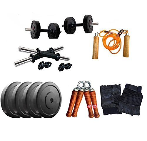 AURION GRH2-28kg Other Home Gym Set with 14 inch Dumbbell Rods & Accessories28 kg28 kg (Multi-Color) 28 Kg Home Gym Set with Accessories is A Sturdy Fitness Equipment