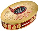Walkers Shortbread Oval Gold Shortbread Tin, Scottish Cookies,...
