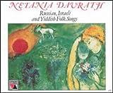 Sings Russian Yiddish  and  Israeli Folk