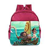 Toddler Kids Moana School Backpack Fashion Baby Boys Girls School Bags Pink