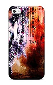 DanRobertse Case Cover Protector Specially Made For iphone 4s Anime Girls Original Dark