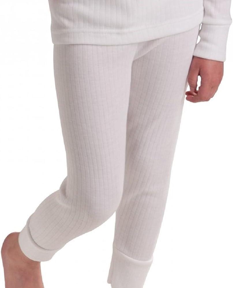 2X Unisex Children Kids Thermal Underwear Long Sleeve T-Shirt Top Long John Warm Vest