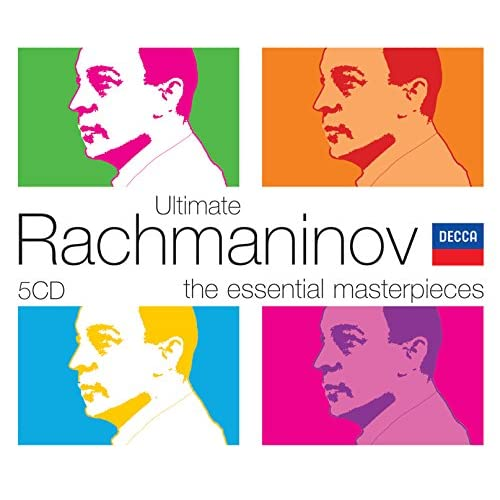 Ultimate Rachmaninov 5 Cds By Various Artists On Amazon