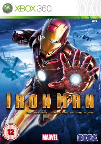 IRON MAN (XBOX 360) (Video Xbox 360 Game Ironman)