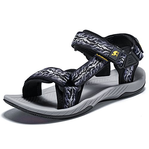 CAMELSPORTS Mens Athletic Sandals Outdoor Strap Summer Beach Fisherman Water Shoes
