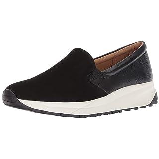 Naturalizer Women's Selah Sneaker, Black, 9 M US