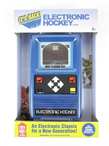 M Electronic Handheld HOCKEY Game (Remake of the 1978 vtg game) Pocket NIB For Ages 8+ (Electronic Hockey)