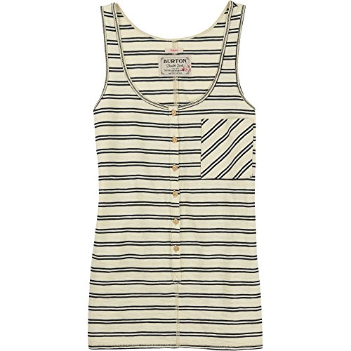 BURTON Women's Salvador Tank Top, Small, Canvas Heather Norwich (Patch Womens Fitted Tank Top)
