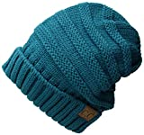 #8: Funky Junque's C.C. Trendy Warm Oversized Chunky Soft Oversized Cable Knit Slouchy Beanie