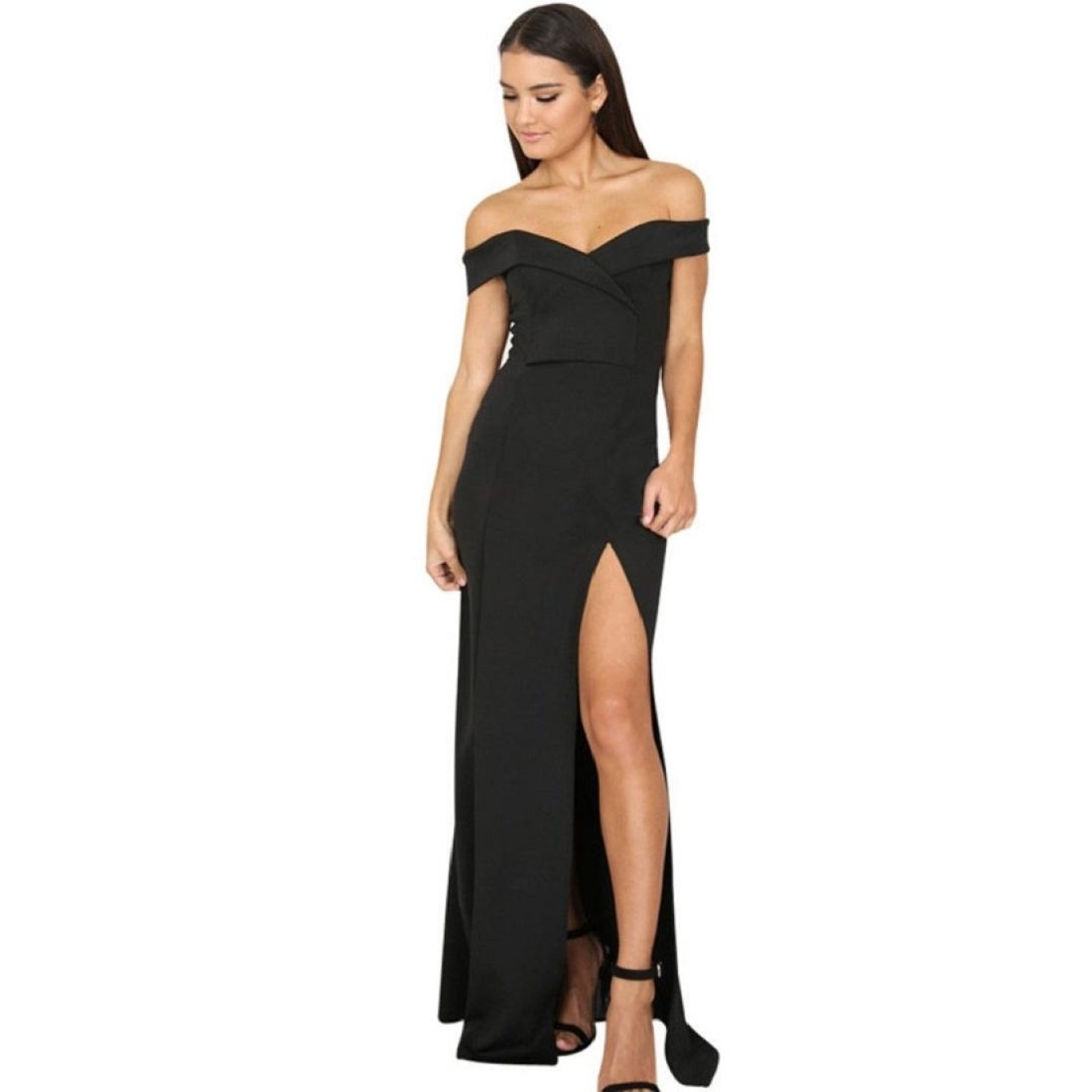 ead6040ca6 GONKOMA Women's Formal Prom Ball Gown Evening Party Bodycon Long Maxi Dress