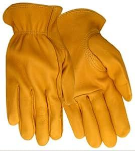 Red Steer 5505XL Mens Heatsaver Grain Deerskin Lined Driver Glove, Extra Large
