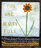 Sugarboo Designs Art Print AP110 You are Beauty Full, 24-Inch by 30-Inch by 2-Inch