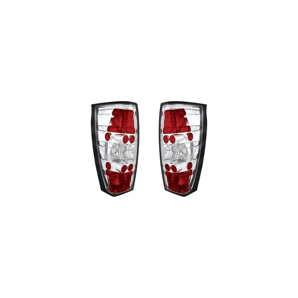 Cadillac Escalade EXT 2002 2003 2004 2005 2006 Tail Lamps, Crystal Eyes/Crystal Clear/1 pair